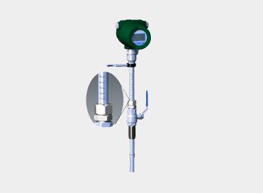 W-TM4000C Insertion type thermal gas mass flowmeter