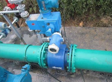 DN80 sewage electromagnetic flowmeter