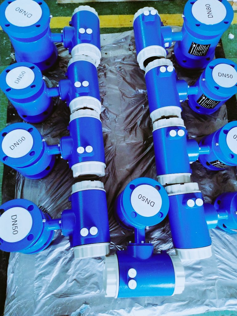 Another W-M3000 Electromagnetic Flow Meters Will Leave For America
